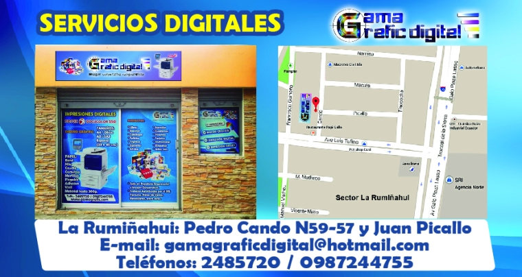 GAMA GRAFIC DIGITAL LOCAL