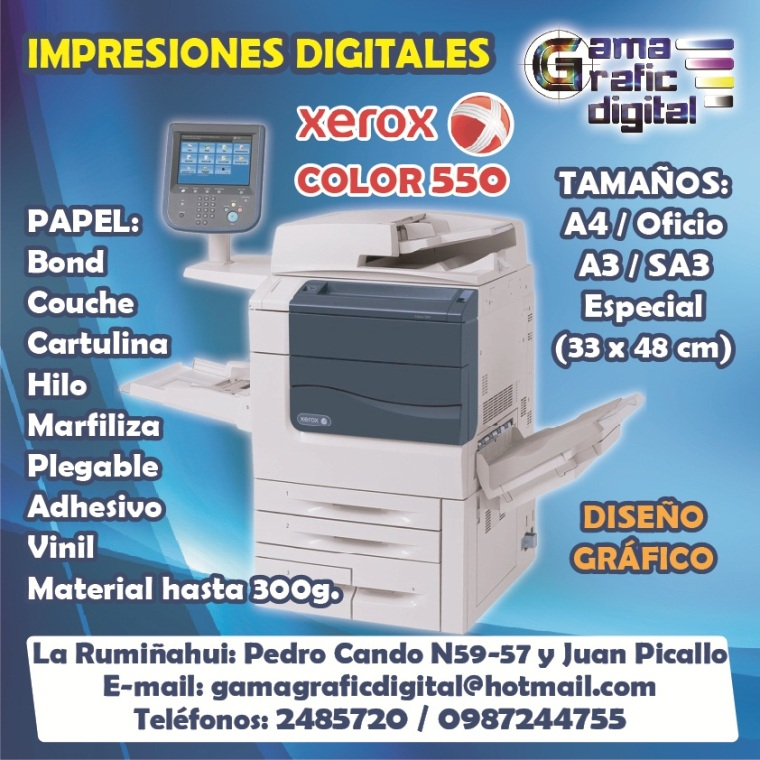 GAMA GRAFIC DIGITAL