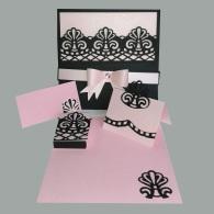 matrimonio rosa y negro
